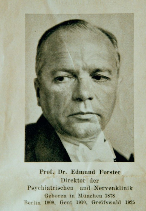Professor Edmund Forster